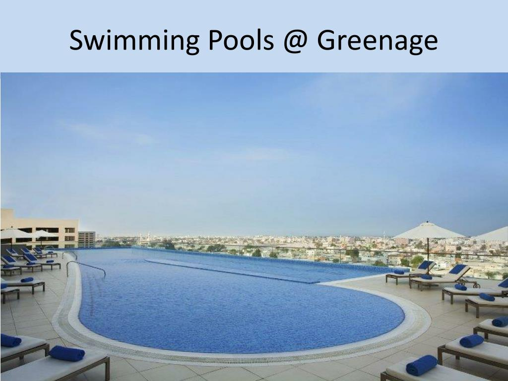 Swimming Pools @ Greenage