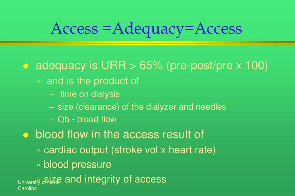 Access =Adequacy=Access