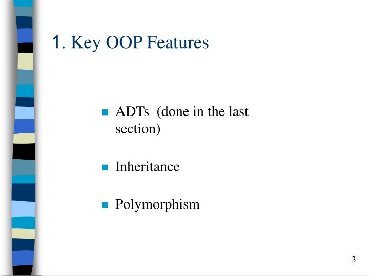 1 key oop features