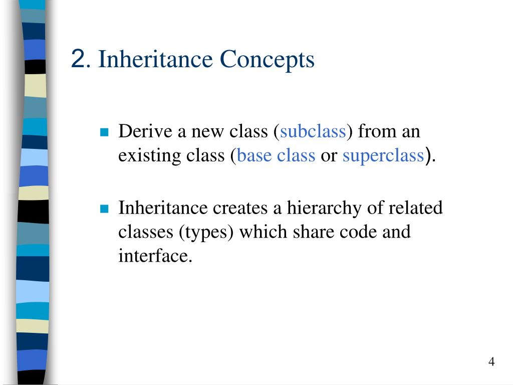 2. Inheritance Concepts