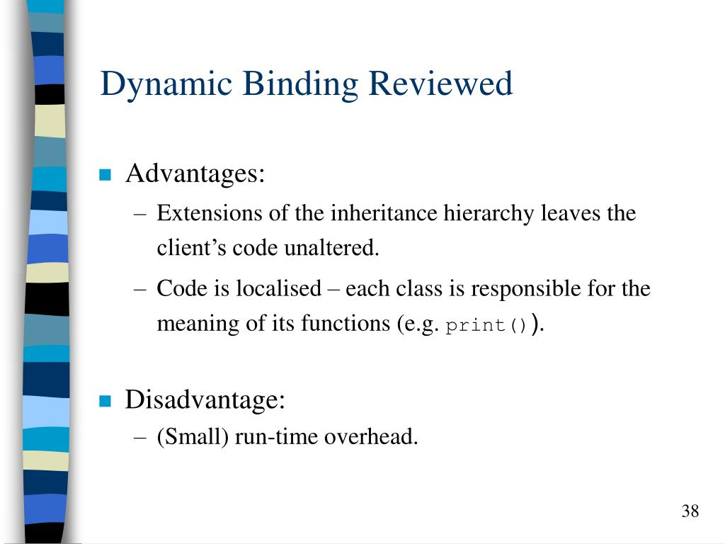 Dynamic Binding Reviewed
