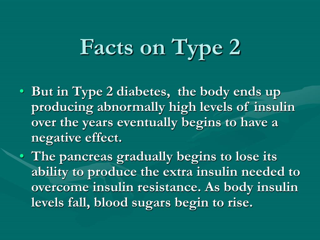 Facts on Type 2