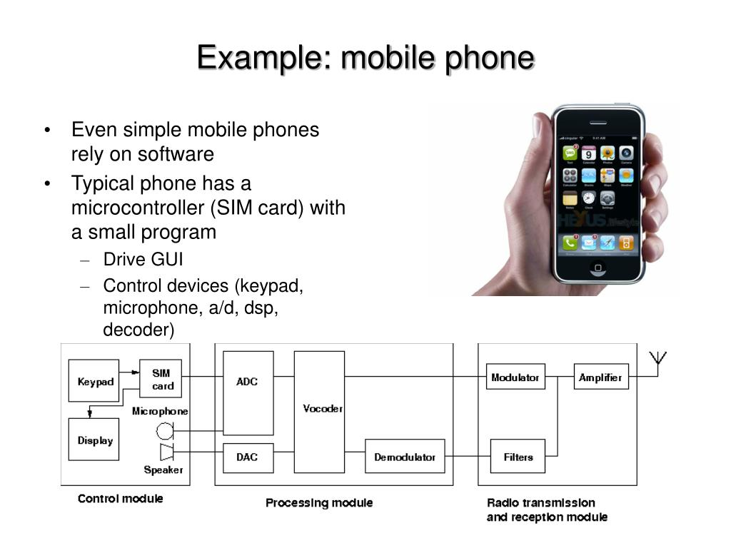 Example: mobile phone