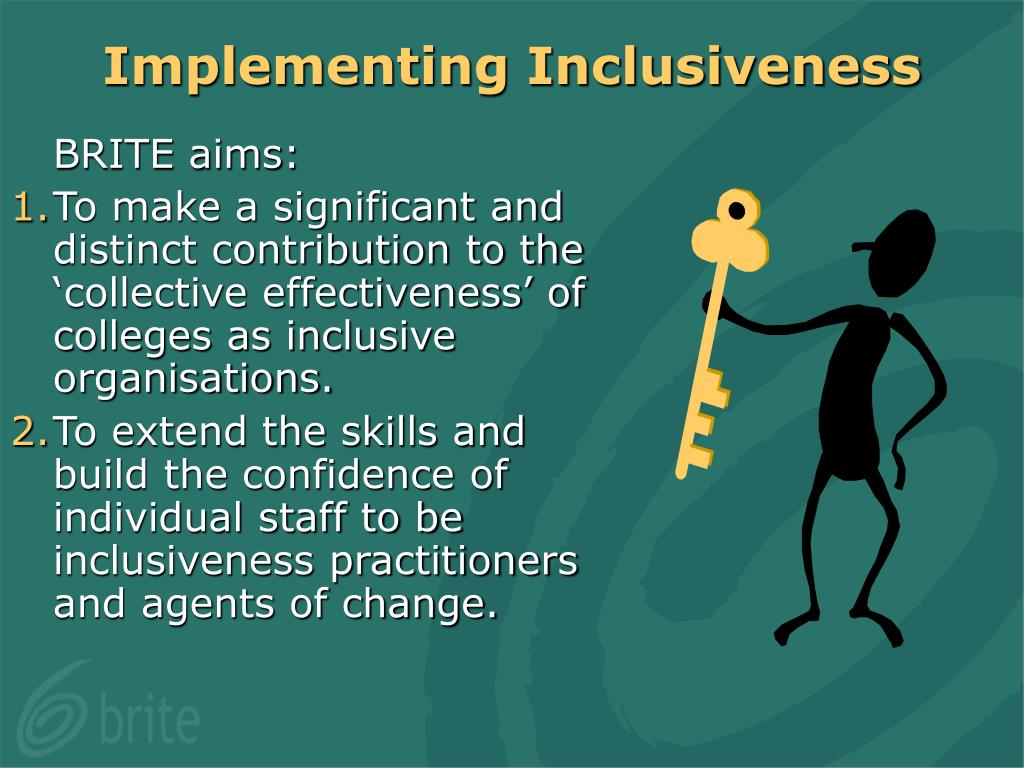 Implementing Inclusiveness
