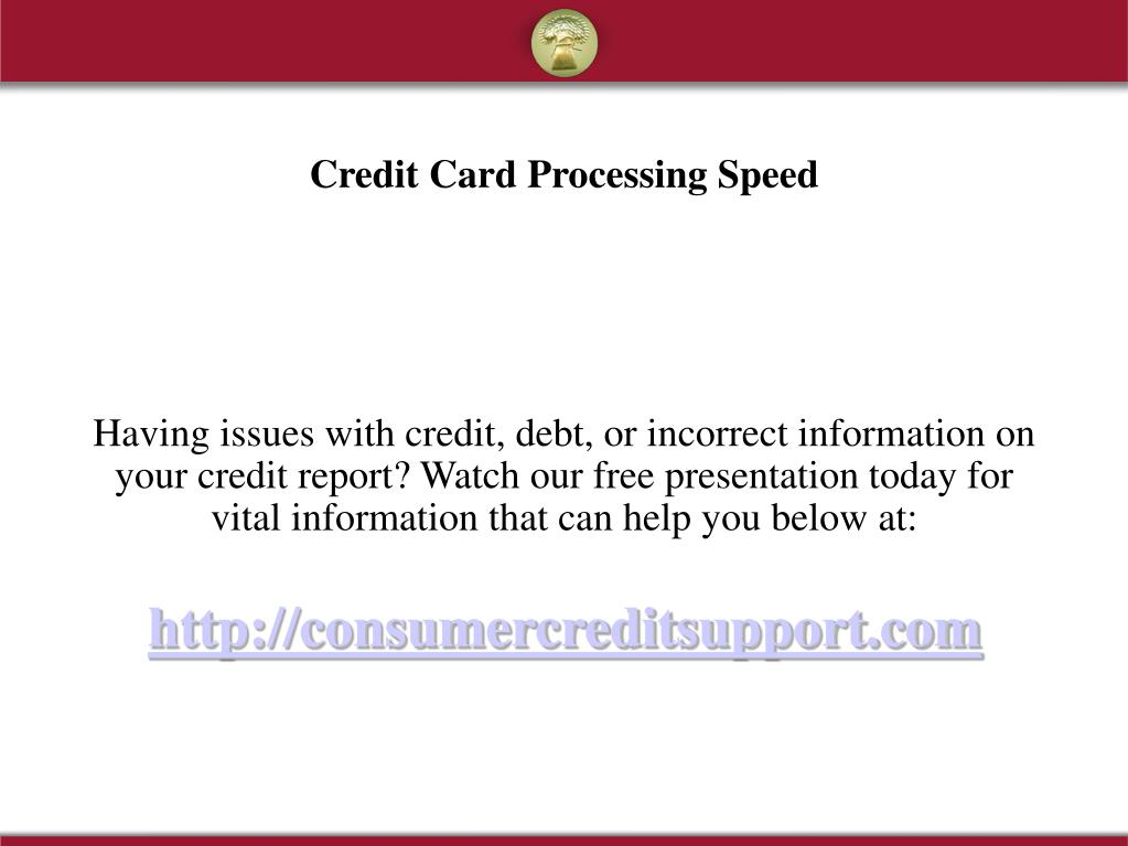 Having issues with credit, debt, or incorrect information on your credit report? Watch our free presentation today for vital information that can help you below at: