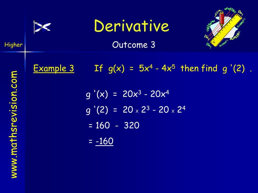 Derivative