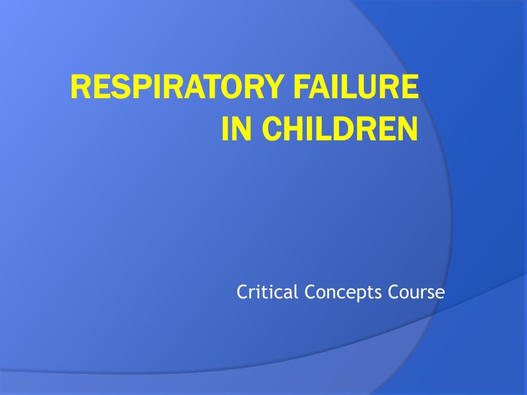 Critical Concepts Course