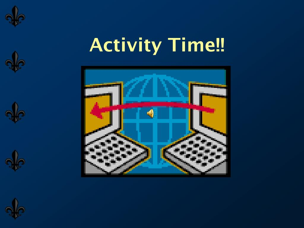 Activity Time!!
