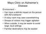 mayo clinic on alzheimer s disease