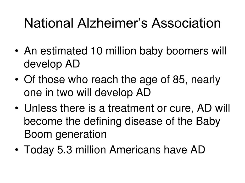 National Alzheimer's Association