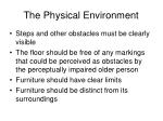 the physical environment23
