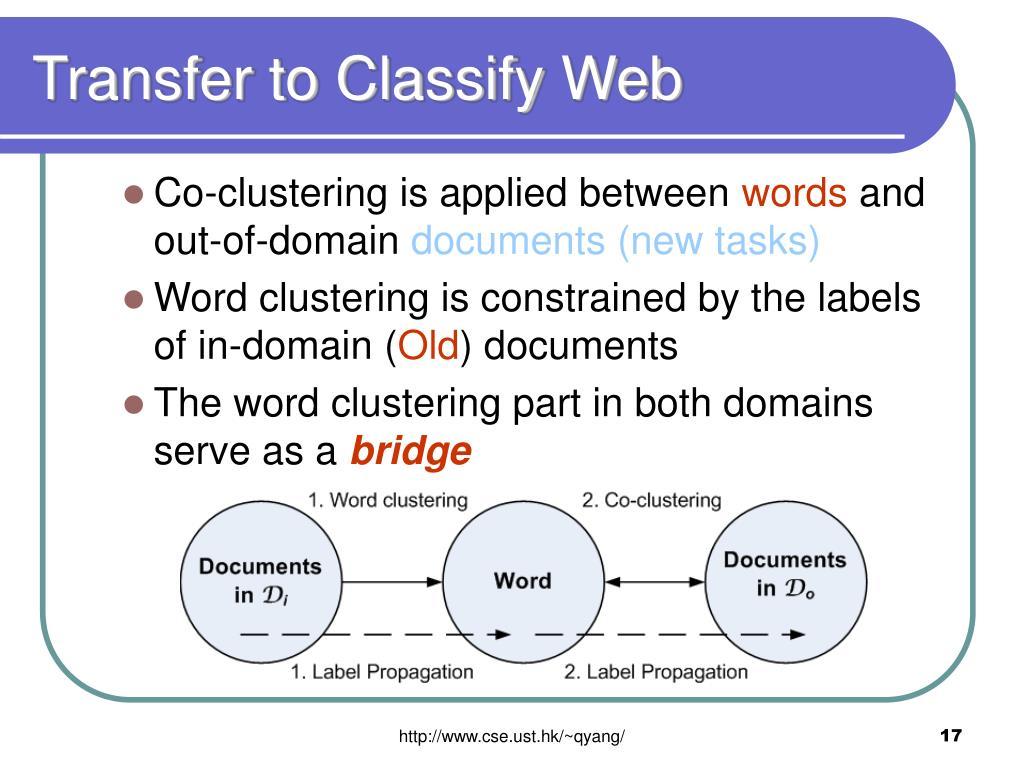 Transfer to Classify Web