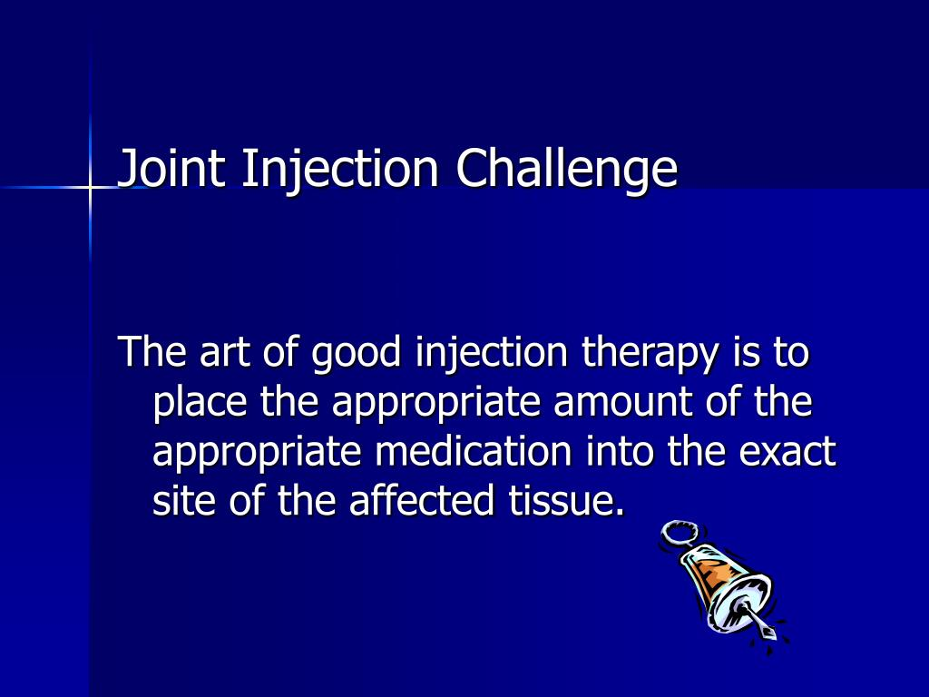 Joint Injection Challenge