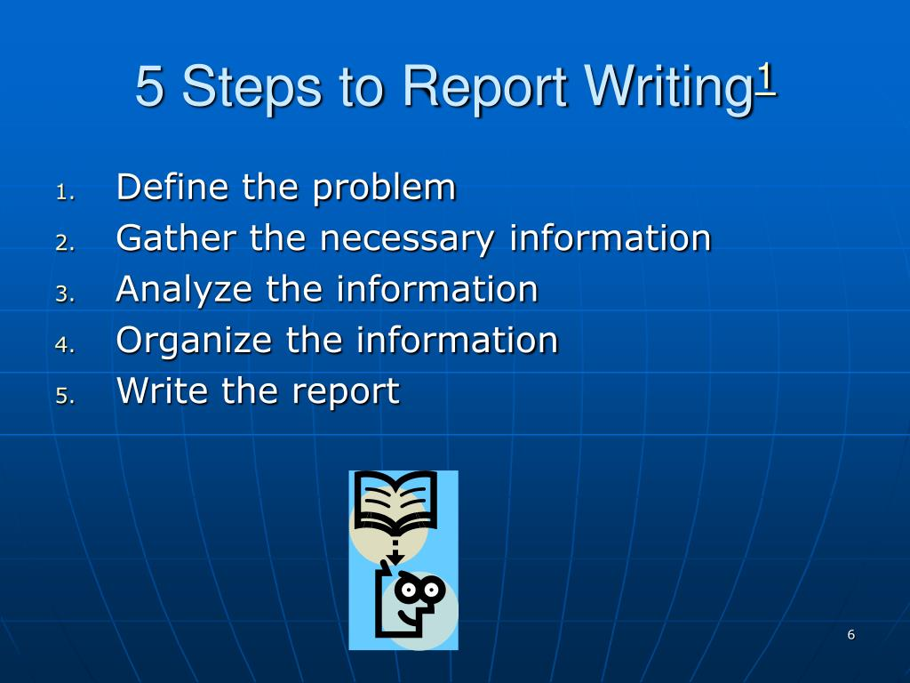 5 Steps to Report Writing