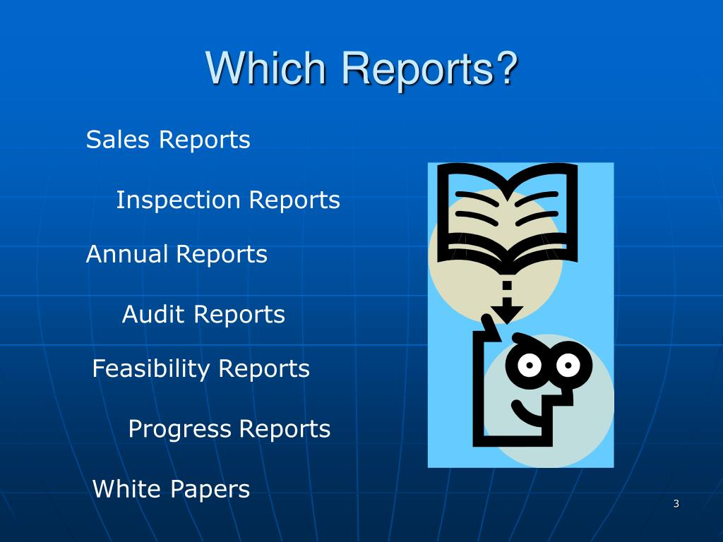 Which Reports?