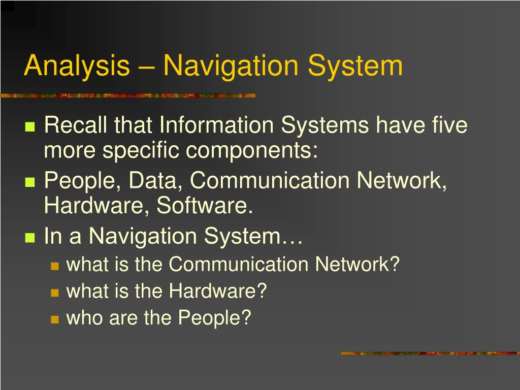 An analysis of the travtek navigation system