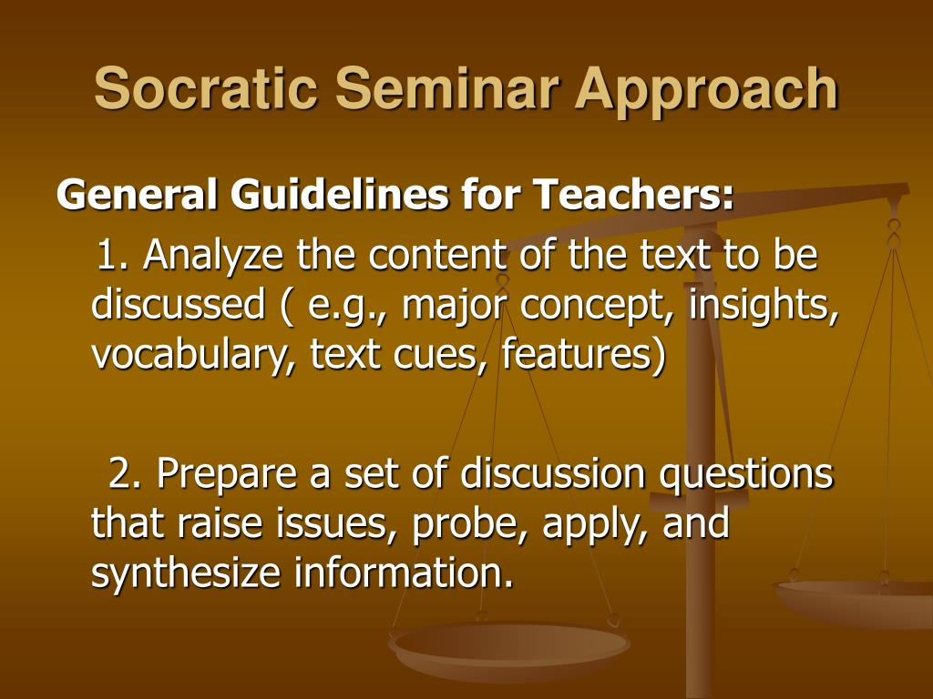Watch How to Prepare for a Socratic Seminar video