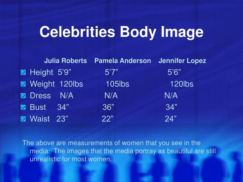 Celebrities Body Image