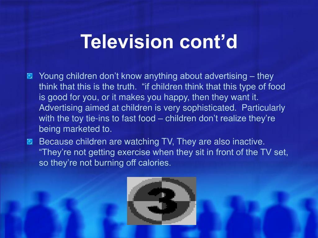 Television cont'd
