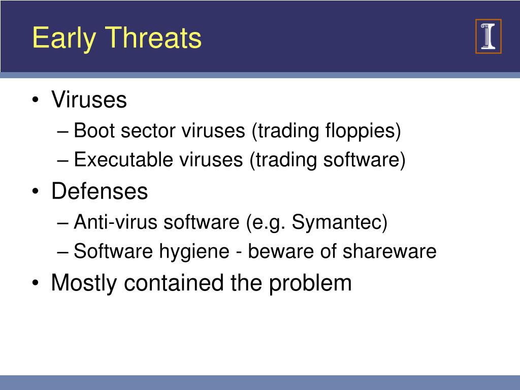 Early Threats