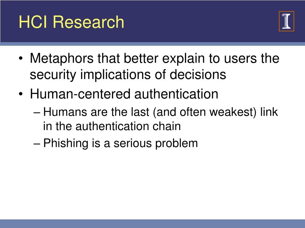 HCI Research