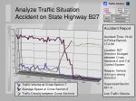 analyze traffic situation accident on state highway b2717
