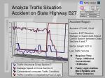 analyze traffic situation accident on state highway b2720