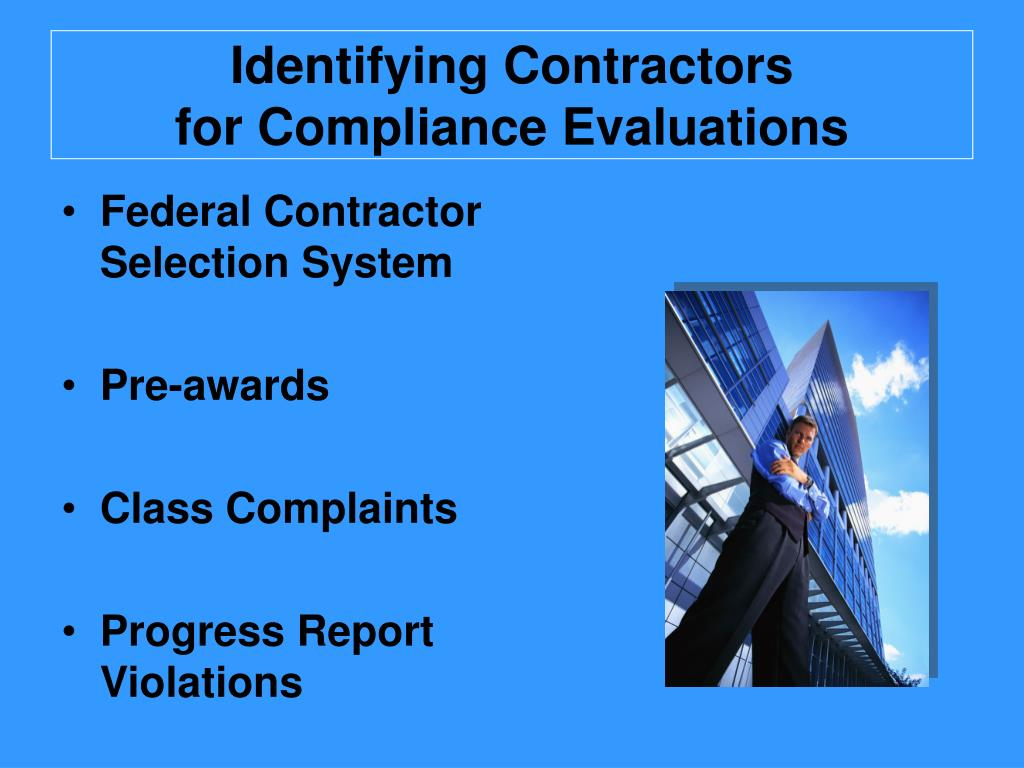 Ppt Ofccp Compliance Evaluation 101 Powerpoint