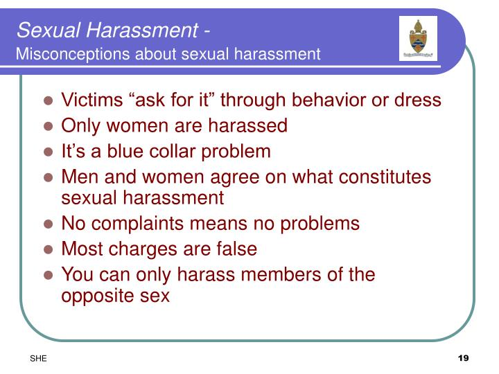 Sexual Harassment -