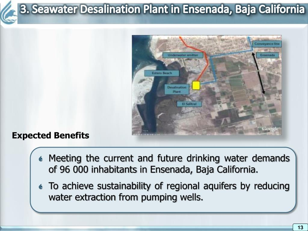 3. Seawater Desalination Plant in Ensenada, Baja California