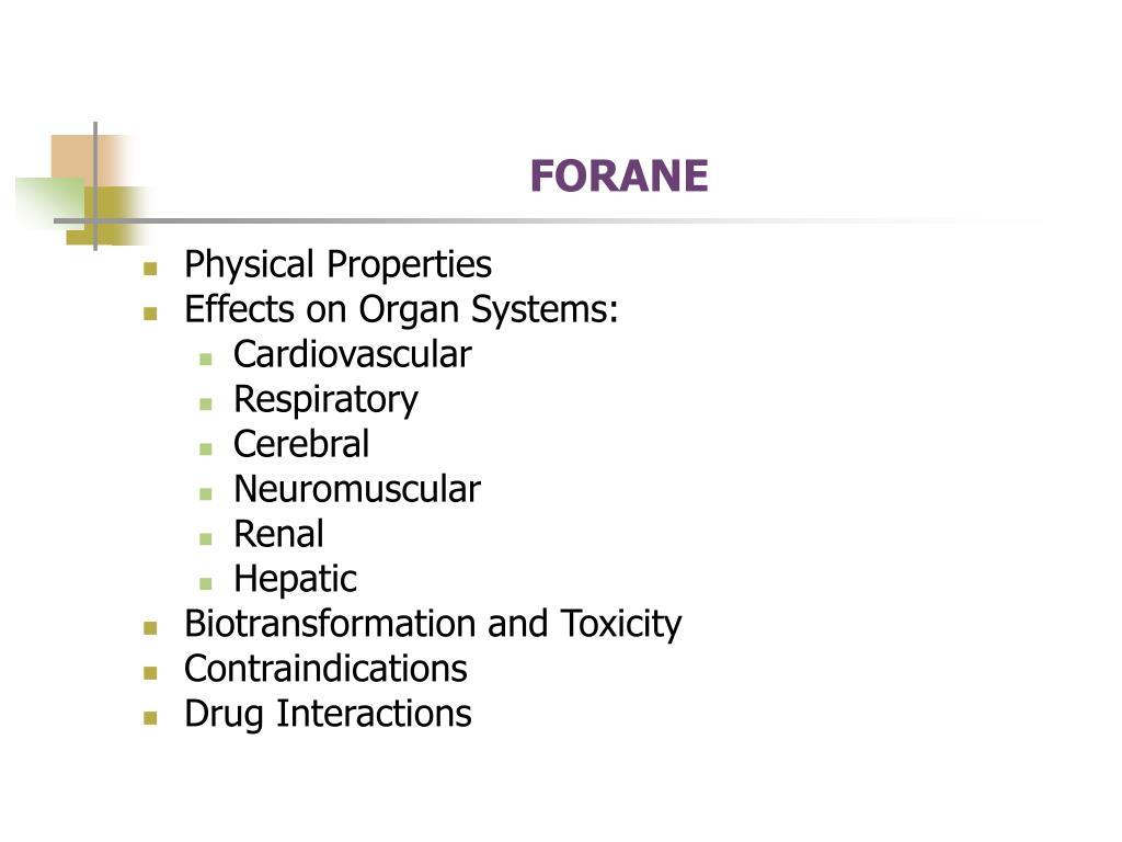 FORANE