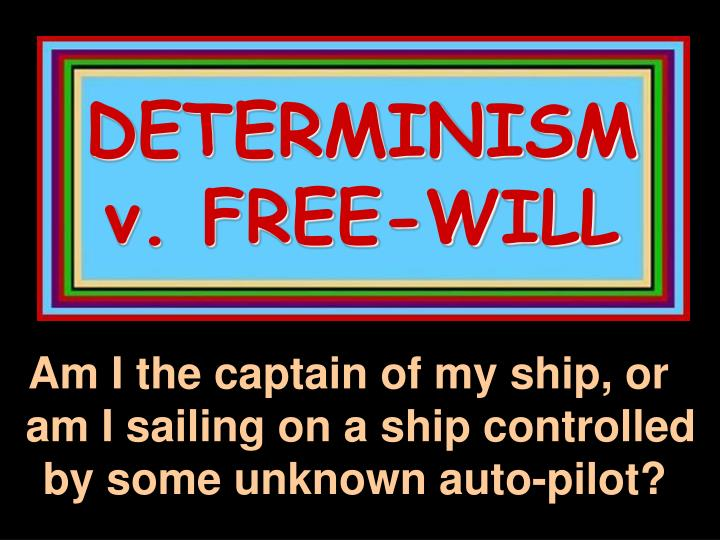 essays on hard determinism Essay writing guide learn the art of brilliant essay writing with help from our teachers learn more compare hard determinism and libertarianism however this theory of environment and genetics alone effecting our actions is contradicted by libertarianism.