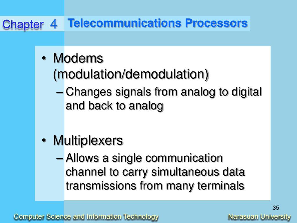 Telecommunications Processors