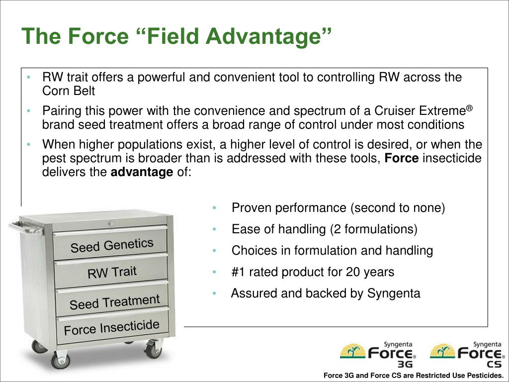 RW trait offers a powerful and convenient tool to controlling RW across the Corn Belt