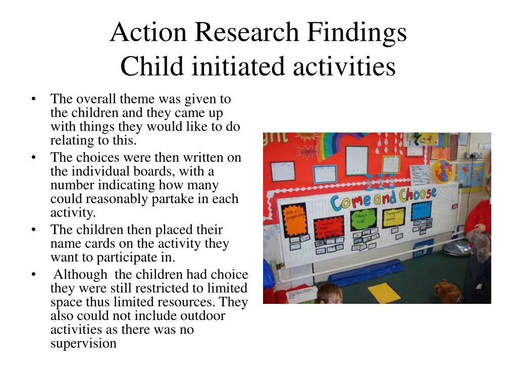 Action Research Findings