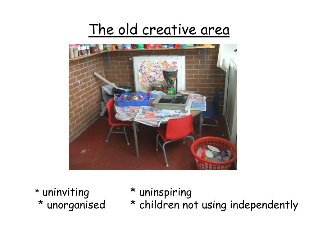The old creative area
