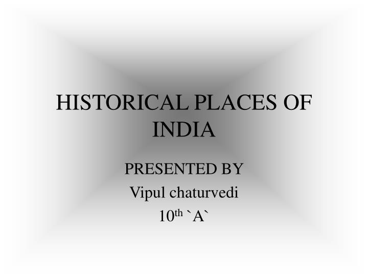Historical places of india l.jpg