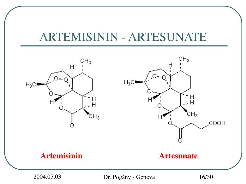 ARTEMISININ - ARTESUNATE