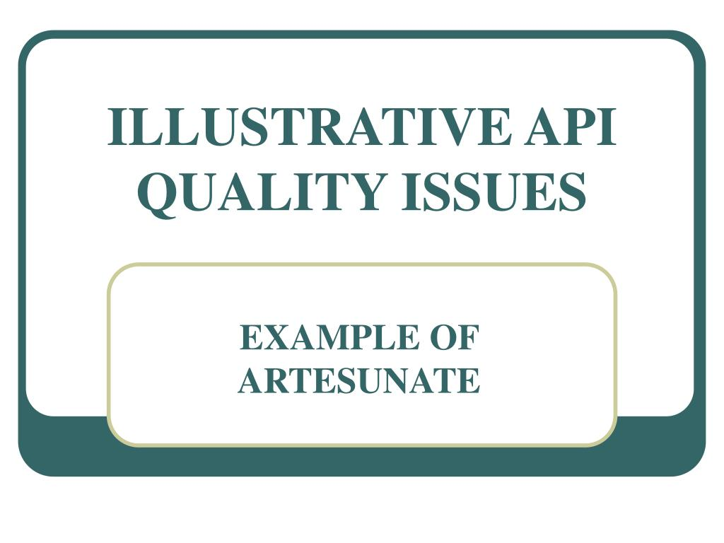 ILLUSTRATIVE API