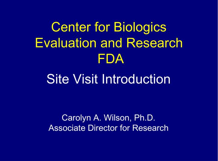 Center for biologics evaluation and research fda l.jpg