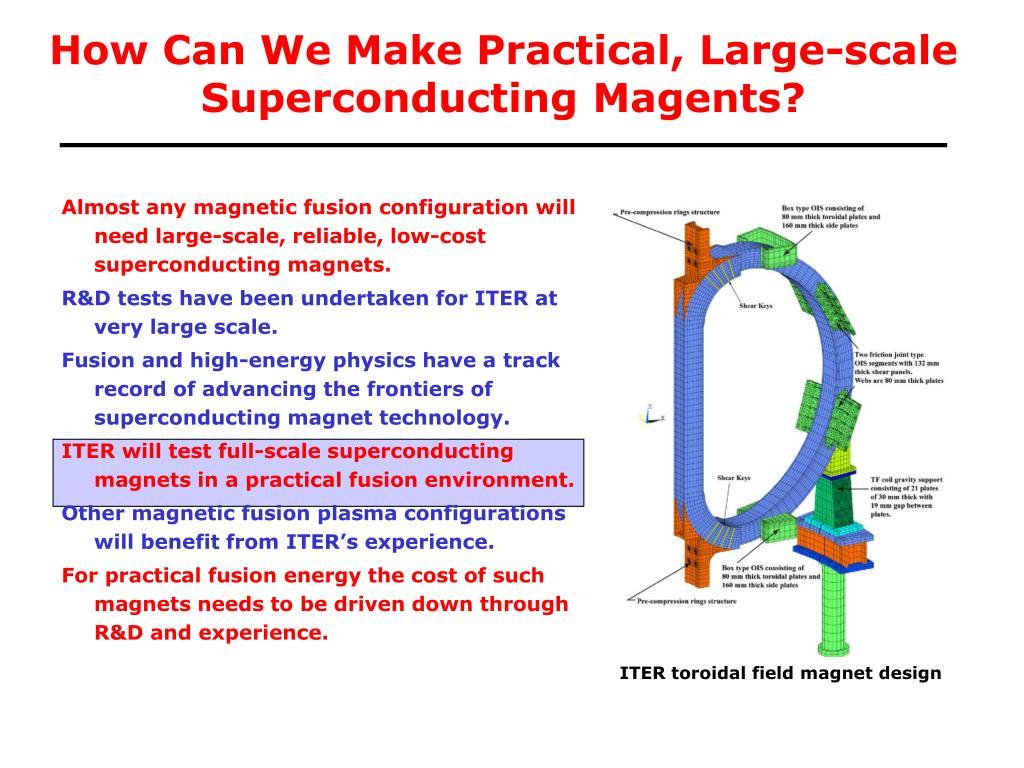 ITER toroidal field magnet design