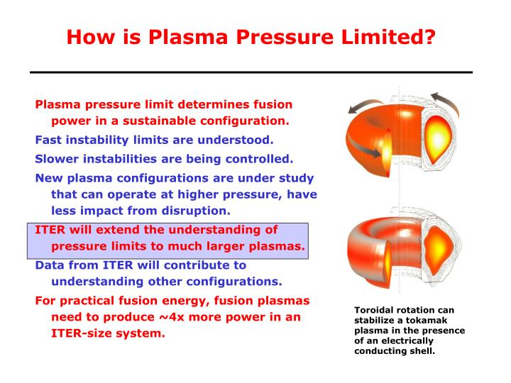 How is plasma pressure limited l.jpg
