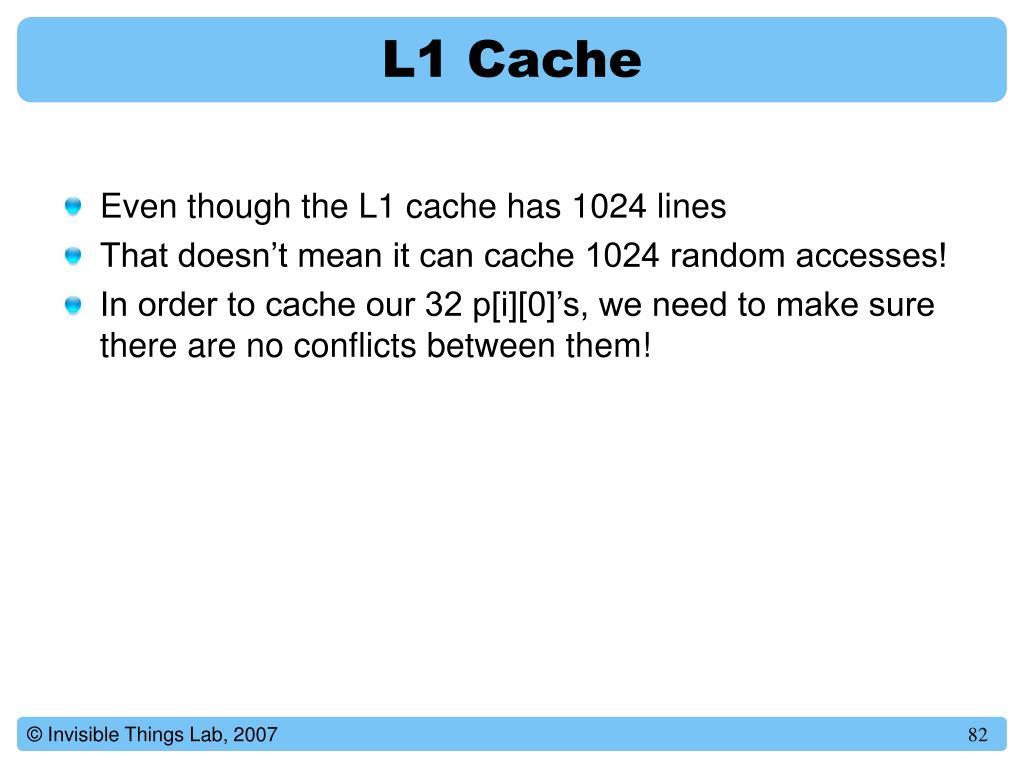 L1 Cache