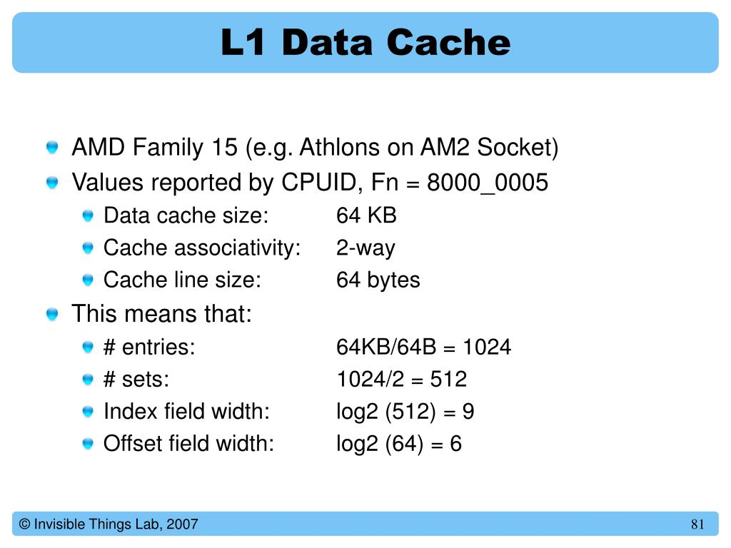L1 Data Cache