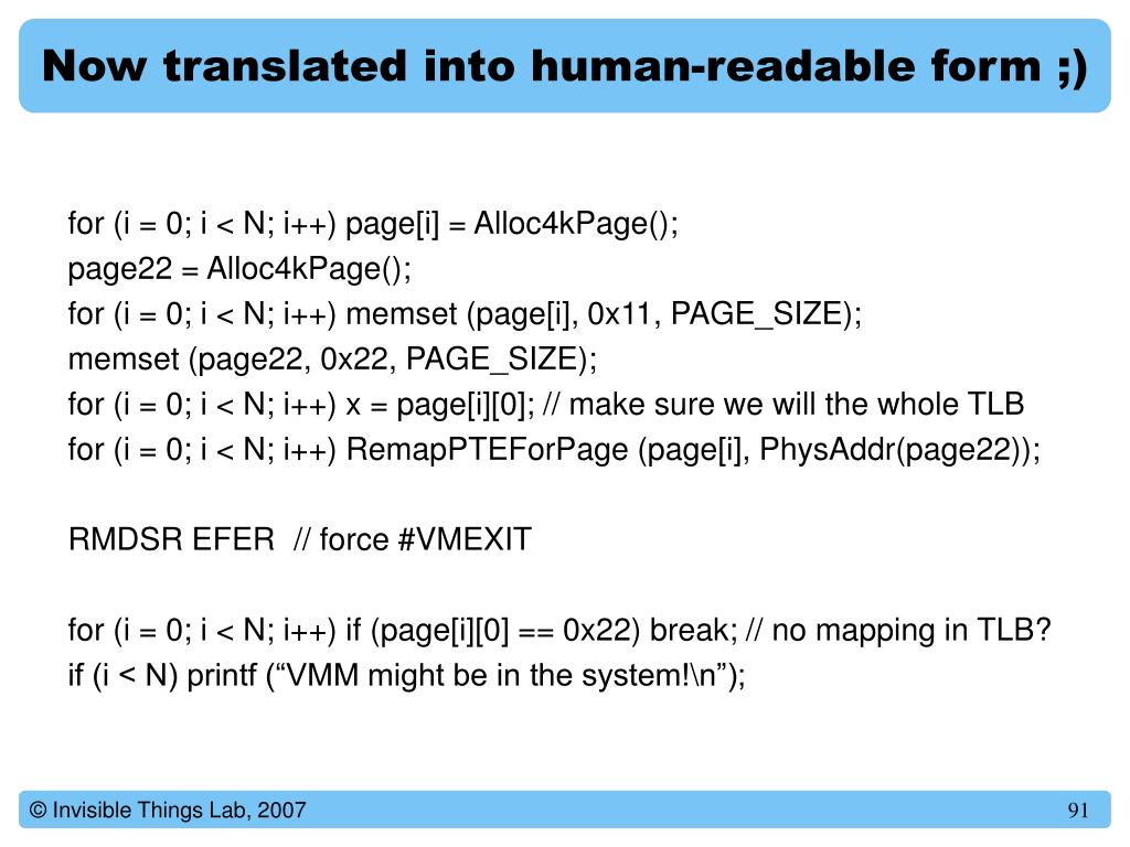 Now translated into human-readable form ;)