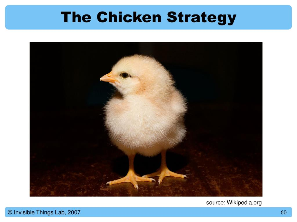 The Chicken Strategy
