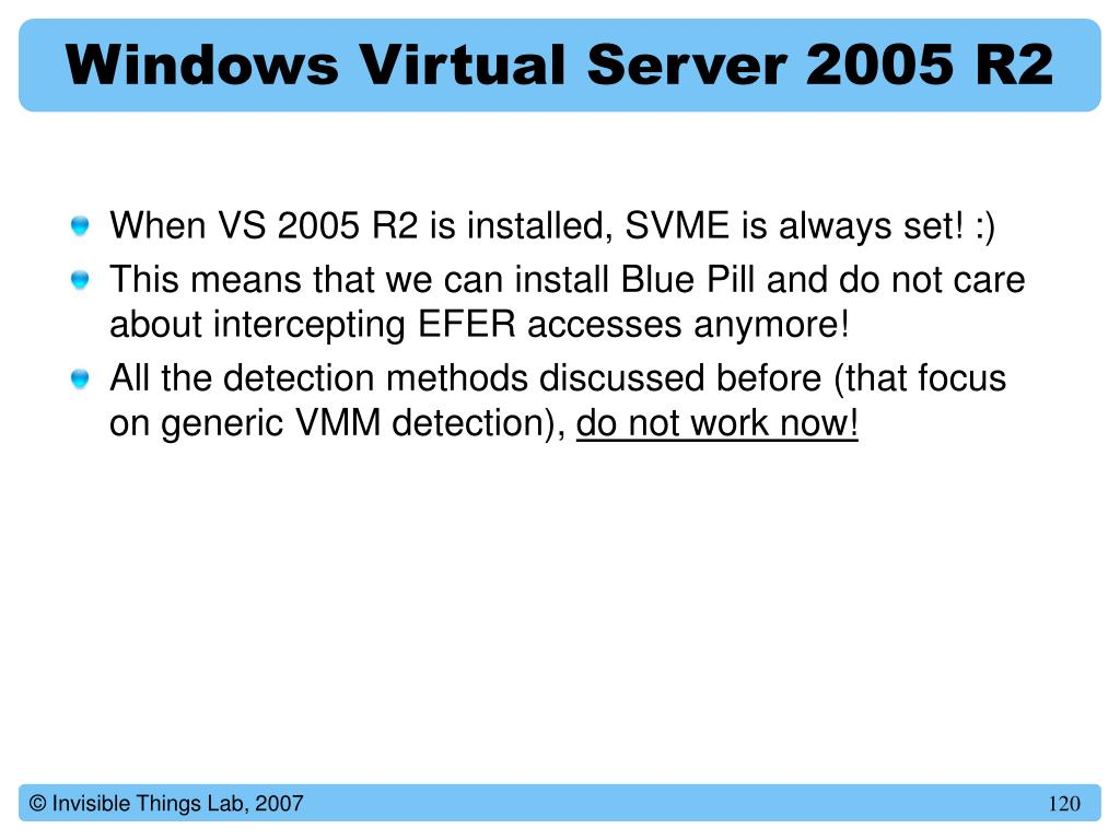 Windows Virtual Server 2005 R2