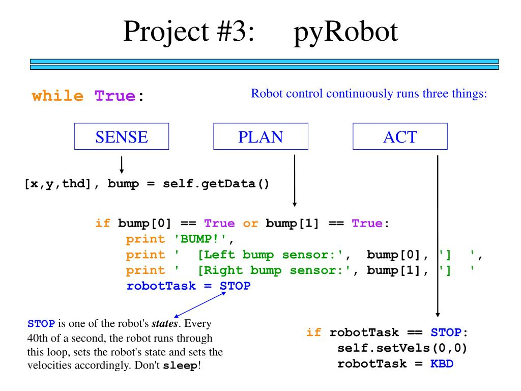 Project #3:     pyRobot