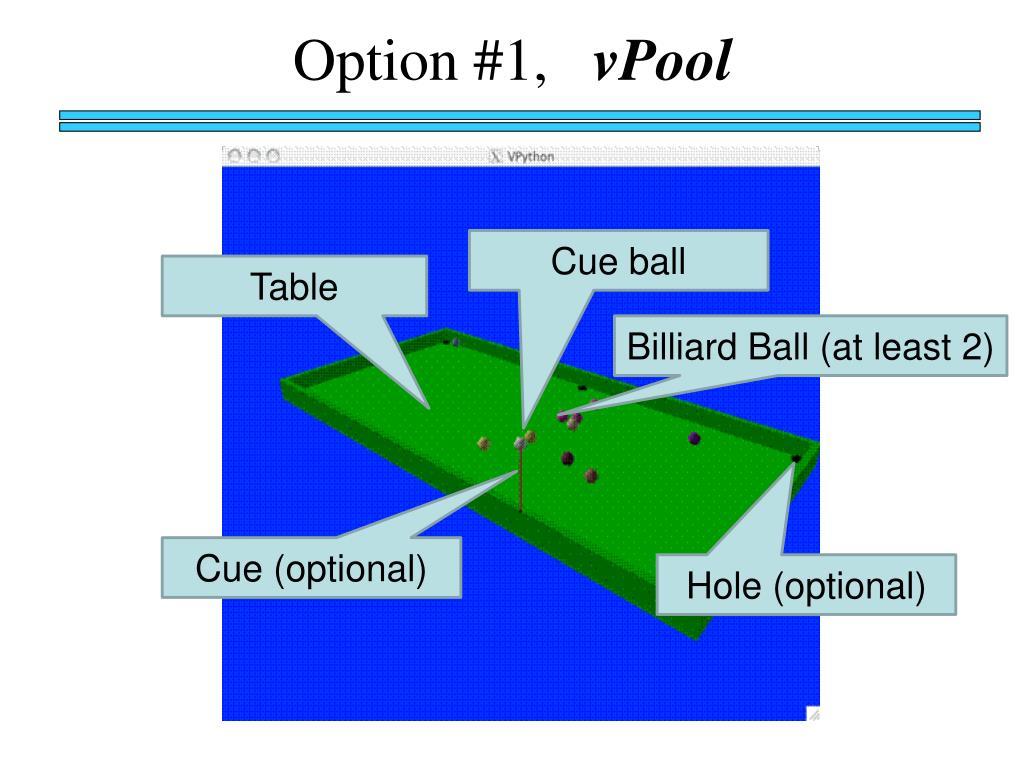 Option #1,