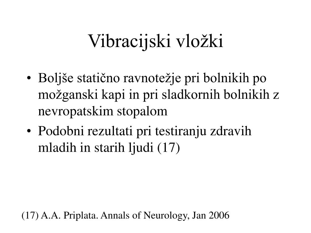 Vibracijski vložki